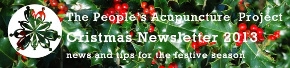 christmas newsletter header